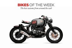 South Garage's amazing custom BMW R75/5: star of our latest Custom Bikes Of The Week