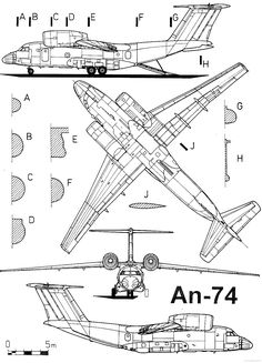 1305 Best Aircraft 3-view Scale Drawings images in 2019
