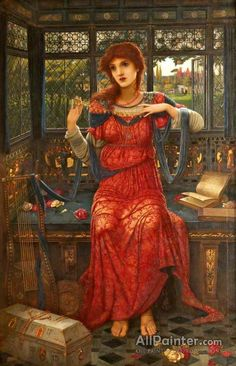 John Melhuish Strudwick - Oh, Swallow, Swallow. John Melhuish Strudwick was an English Pre-Raphaelite painter. Dante Gabriel Rossetti, Charles Edward, Edward Robert Hughes, John Everett Millais, John William Waterhouse, William Morris, Pre Raphaelite Paintings, Pre Raphaelite Brotherhood, Edward Burne Jones