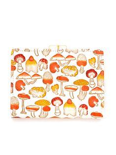 水金地火木土天冥海 |水金の文庫革 |がま札財布 |きのこ 橙