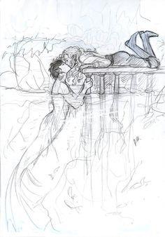 El sirenito azul y Anabeth Chase (sólo para semidioses)