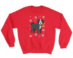 View Ugly Christmas Sweaters by MilkyMug on Etsy Ugly Christmas Sweater, Dog Gifts, Friends In Love, Funny Gifts, Graphic Sweatshirt, Trending Outfits, Sweatshirts, Dogs, Etsy