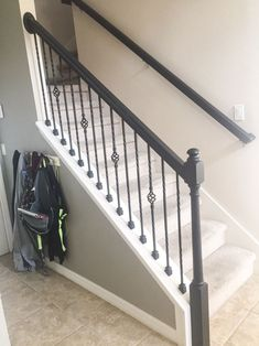 Do You Want To Paint A Stair Rail? Do You Want An Easy Project To