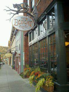 miam miam miam miam.... Bobcat Cafe & Brewery in Bristol, VT