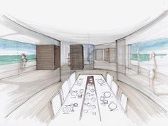 #interiordesign #design #interior #minimal #italianstyle #italiandesign #federicodelrossoarchitects #italianarchitects #interiorarchitecture #studioarchitettura #yatchdesign #concept #sketching #ideas Interior Architecture, Interior Design, Motor Yacht, Italian Style, Sketching, Minimalism, Concept, Drawing, Ideas