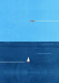 Sky and Sea, Illustration by SHOUT ::: www.dutchuncle.co.uk/shout-images