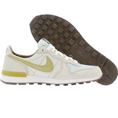 Nike Womens Internationalist (ice / green curry / light bone / baroque brown) 310128-431 - $44.99