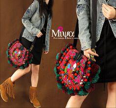 Miya's Original Ethnic Hmong Embroidered Bag  Purse Shoulderbag - Sunny Mood on Etsy, $47.12 AUD