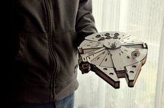 Boyfriend Gift Wooden Construction Star Wars Millenium Falcon Millenium Falcon, Star Wars Gifts, Boyfriend Gifts, Construction, Stars, Building, Bf Gifts, Sterne, Star