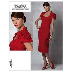 Mccall Pattern V1162 6-8-10-12 -Vogue PatternMccall Pattern V1162 6-8-10-12 -Vogue Pattern,