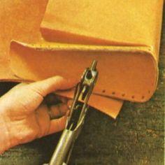 Cómo hacer un bolso de cuero 5