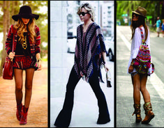 Estilo Boho Chic: a moda dos anos 70 voltou com tudo! | Capricho Fashion