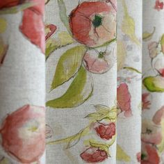 Fibre Naturelle Floral Watercolor Fabric with Butterflies, Upholstery Fabric Watercolor Fabric, Floral Watercolor, Upholstery, Fiber, Butterfly, Colours, Tapestries, Reupholster Furniture, Low Fiber Foods