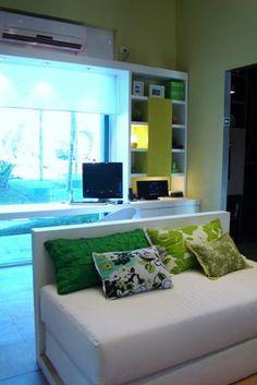 RECAMARA JUVENIL VERDE MANZANA : Dormitorios: Fotos de dormitorios Imágenes de habitaciones y recámaras, Diseño y Decoración