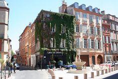 Toulouse la ville rose.