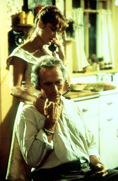 Meryl Streep and Clint Eastwood in The Bridges of Madison County (1995)