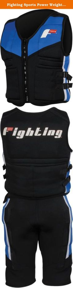 Fighting Sports Power Weighted Vest, REG. Extra strength neoprene construction stretches and conforms to the body for a custom form fit for every athlete. Complete with heavy duty zipper and adjustable nylon seat belt straps for a snug fit. Vest comes complete with 30 lbs. of weights that is adjustable from 1 to 30 Lbs. Reinforced for professional gym use.