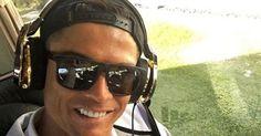 13 de novembro de 2015: Ronaldo comprou jato privado de 19 milhões (JN) Com: Cristiano Ronaldo