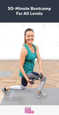 Get Strong With Mom: a 30-Minute Boot Camp For All Fitness Levels!
