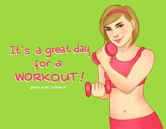 It's a great day for a workout! arthlete