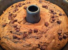 DOESN'T GET ANY BETTER THAN C-H-O-C-O-L-A-T-E!!  :) Death by Chocolate!! :) Ingredients: 1 box of yellow cake mix (you can use any kind)  1 box of vanilla instant pudding,  1 box of chocolate instant pudding,  4 eggs,  3/4 cup of oil 1 cup of sour cream  12 oz bag of semi sweet chocolate chips.   Mix everything except the chocolate chips for 2 minutes.  Pour half the batter in a bundt pan and add half of the chocolate chips  Pour in the rest of the batter then sprinkle on remaining chocolate…