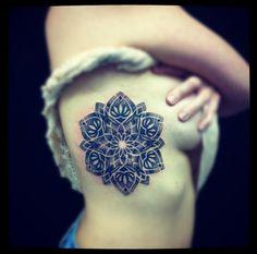 #tattoofriday – Mandala Tattoo | Follow the Colours