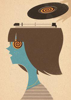 Mind Control in Images 36 by Zara Picken, via Behance