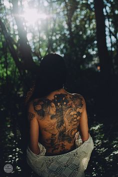 Sunset Dream Tattoo Nude Women   Emotion von VisualARTpoetry