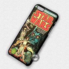 Star Wars Comic Retro - iPhone 7 6S 5S SE4S Cases & Covers