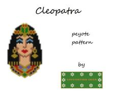 #peyote #pendant #earrings #cleopatra