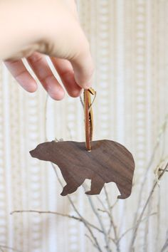 Custom wood ornaments in your favorite shapes will make a fun DIY project or gift.
