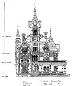 Carson Mansion - The Ultimate Victorian, Victoriana Magazine (www.victoriana.com)