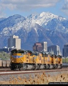 Union Pacific, Salt Lake City, Utah