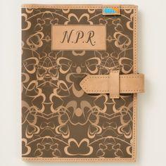 Shop Tangled Hearts Monogram Leather Journal created by BlueRose_Design. Moleskine Notebook, Journal Notebook, Leather Travel Journal, Leather Accessories, Worlds Of Fun, Apple Ipad, Cow Leather, Love Heart, Ipad Mini