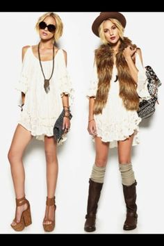 Love faux fur vests