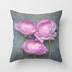 #Ranunculus #homedecor #pillow