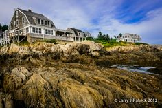 Outside view of The Driftwood Inn, Harpswell, ME.