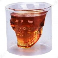 Skull Head Shot Glass Drinking Glass Tumbler Ware For Home Bar Skull Shot Glass, Whiskey Shots, Vodka Shots, Gadgets, Buy Crystals, Skull Head, Crystal Skull, Glass Crystal, Drinking Glass