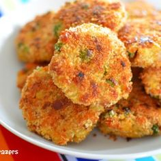 Mini Vegetable and Cheddar Patties