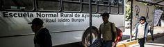 Asesinan a un maestro de Ayotzinapa, la escuela con 43 estudiantes desaparecidos