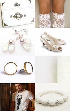 A jewelry by NaLa Etsy treasury ... https://www.etsy.com/treasury/NzQ0NzM5M3wyNzI0ODk4NTg0/for-ladies-only #jewelry #white #handmade #fashion