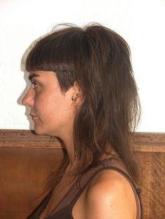 straight fringe haircut