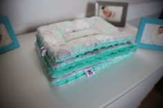 Blanket 100x135cm+ pillow 40x50cm by MisiaLove on Etsy