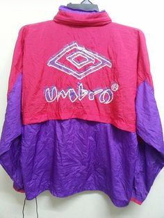 Sale Vintage 1990s Umbro Colourfull Windbreaker by SuzzaneVintage