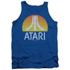 Atari Sunrise Eroded Adult Tank Top