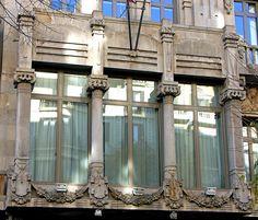 Casa Heribert Pons 1909  Architect: Alexandre Soler i March