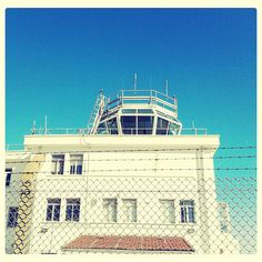 Control tower of Gibraltar airport
