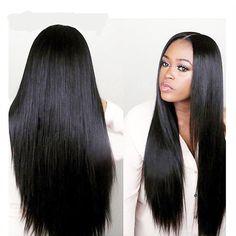 malaysian straight hair ,