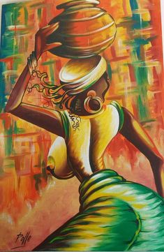 A personal favorite from my Etsy shop https://www.etsy.com/ca/listing/588139313/african-art-painting-tinga-tinga
