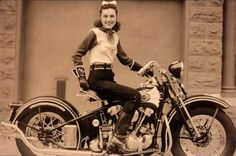 """Dorothy """"Dot"""" Robinson (The First Lady of Motorcycling)"""